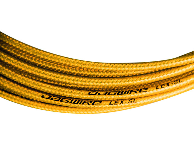 Jagwire LEX SL - Câble de dérailleur - 4,5mm 2,5m Or